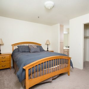 Model unit bedroom fully furnished